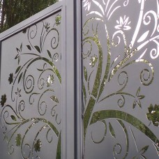 Dichte poort Design