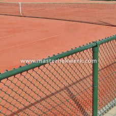 Tennisbaan afrastering